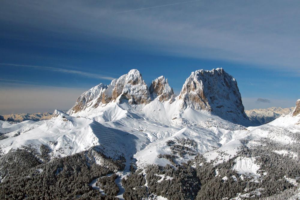 Доломитовые альпы валь гардена
