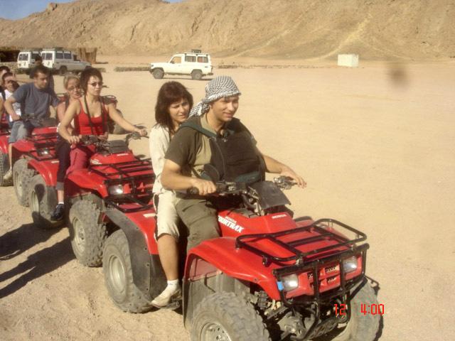 "TEZ TOUR - Египет - Шарм эль Шейх - экскурсия ""Мото сафари"" : египет шарм эль шейх"
