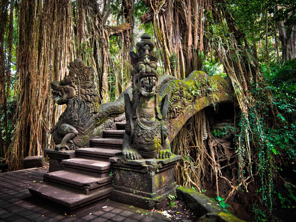В лесах Индонезии скрываются заброшенные храмовые комплексы