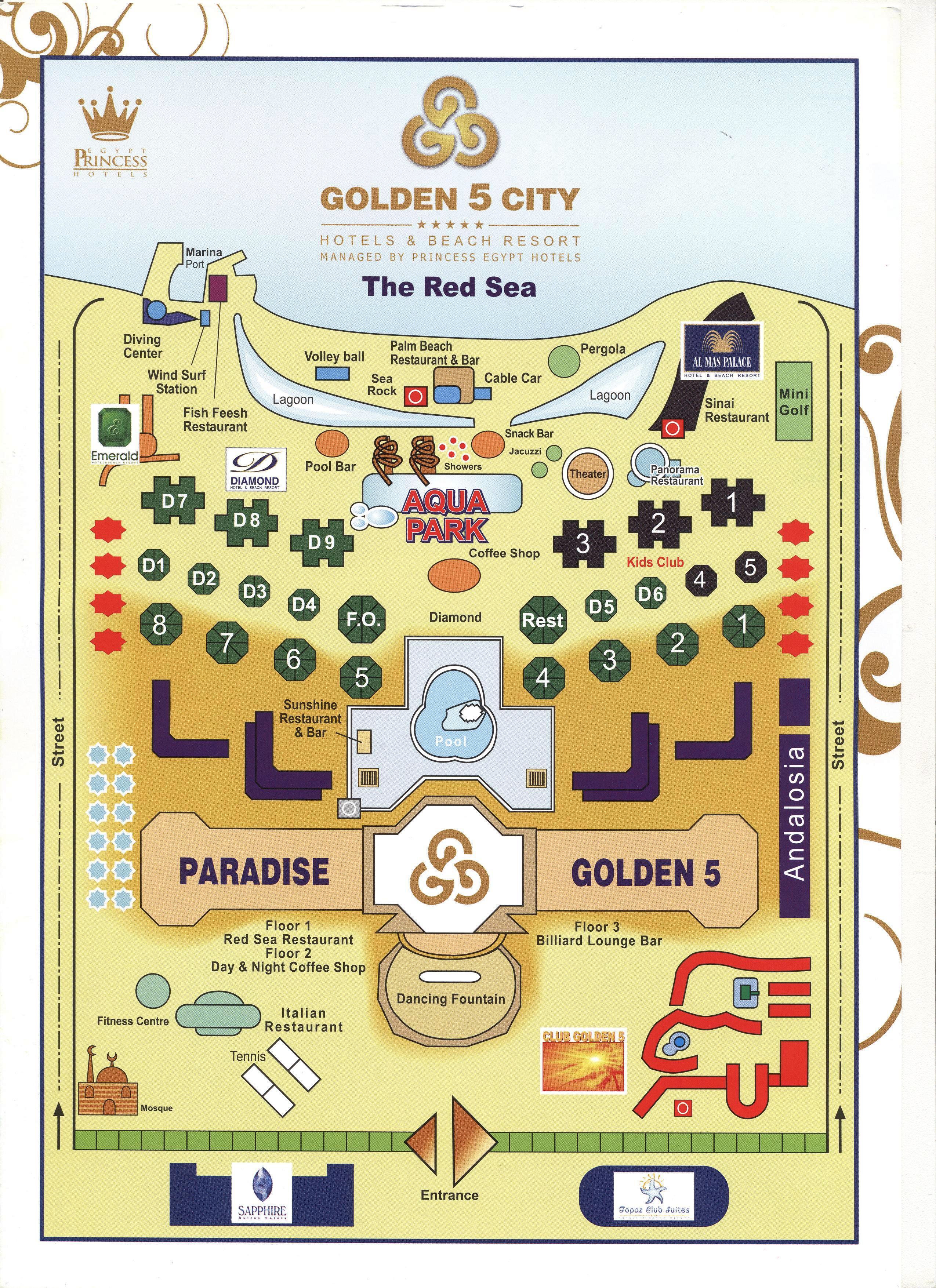 b GOLDEN 5 CLUB/b, Хургада, b Египет/b, описание.